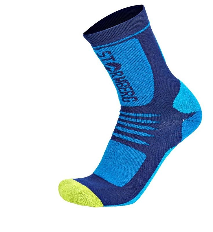 Kr. 199,-  Krokskogen langrennssokk er en teknisk sokk med gode fukttransporterende evner samtidig som den er varm. Sokken har forsterkning på belastede områder for bedre blodsirkulasjon og ventilering.