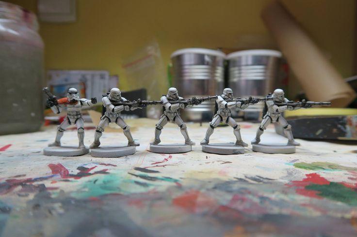 Star Wars - Imperial Assault - Fantasy Flight Games Stormtrooper