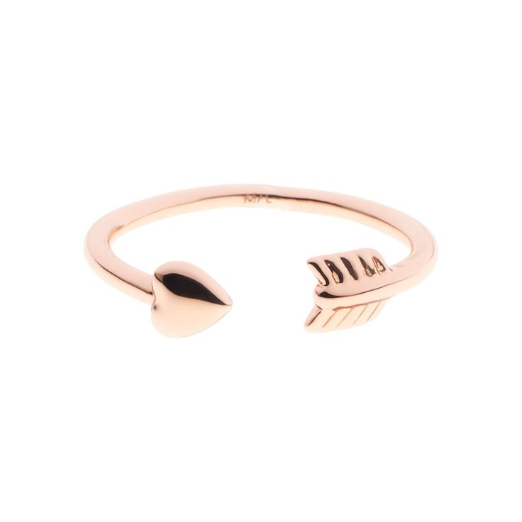 Ted Baker Cassea Cupid Rose Arrow Ring