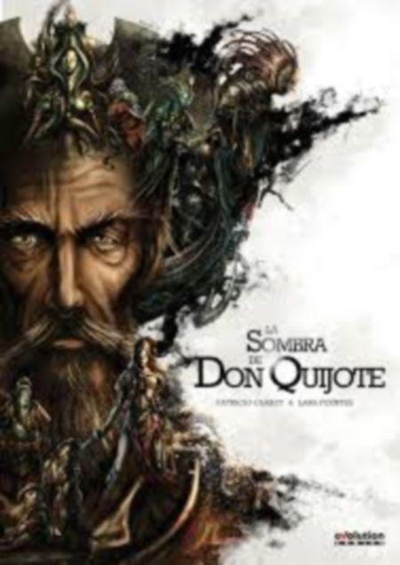 Título :La sombra de Don Quijote / Patricio Clarey & Lara Fuentes. Publicación Torroella de Montgrí, Girona Panini D.L. 2014.  Autor : Clarey, Patricio. SIGNATURA:COMIC-E-20 http://kmelot.biblioteca.udc.es/record=b1539146~S10*gag