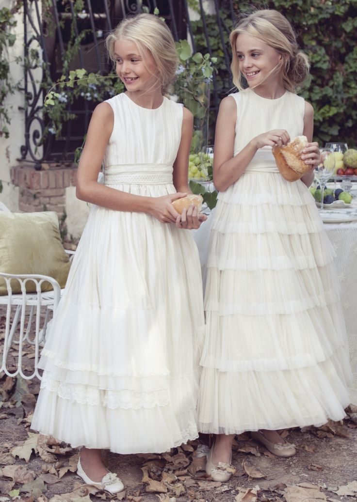 vestidos #comunion #rubiokids