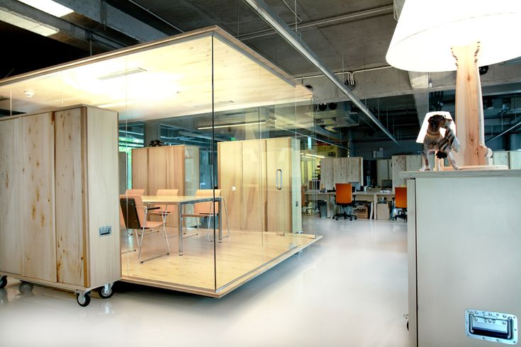 Headvertising Offices – L'open space modulable | Yookô