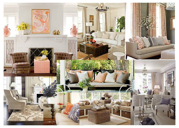 Fresh and neutral living room