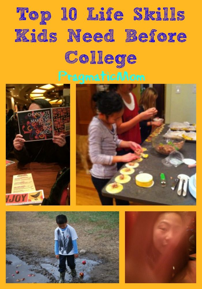 Top 10 Life Skills Kids Need Before College :: PragmaticMom
