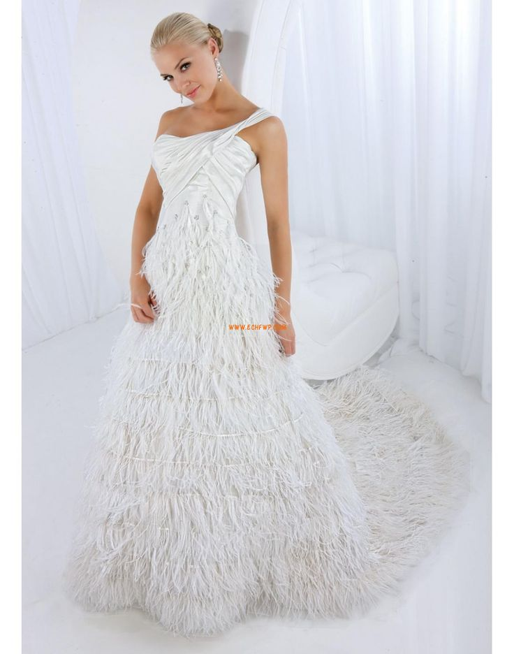 Church Taffeta Zipper Wedding Dresses 2014
