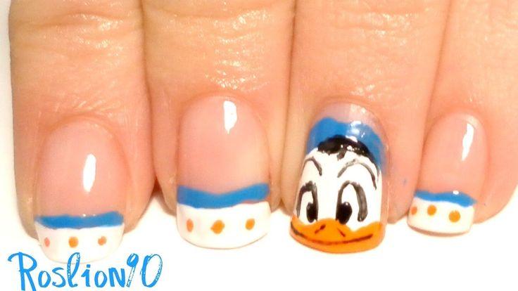 Nail Art (Donald Duck) -Tut