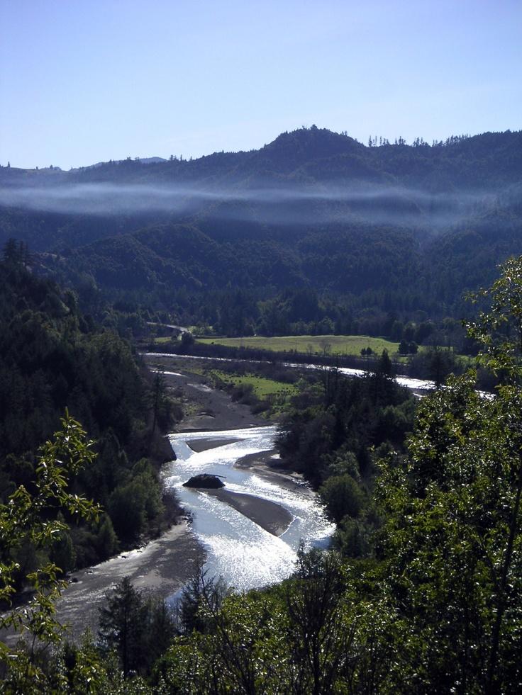 California: misty valley