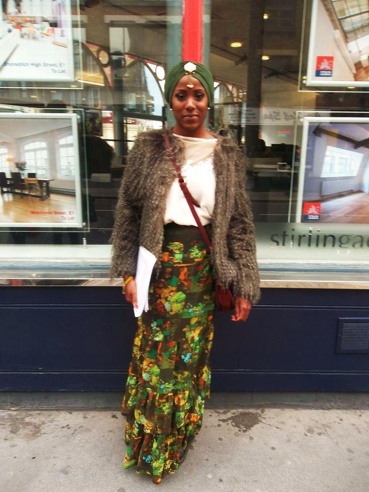 Bohemian Princess - Shoreditch Street Style.