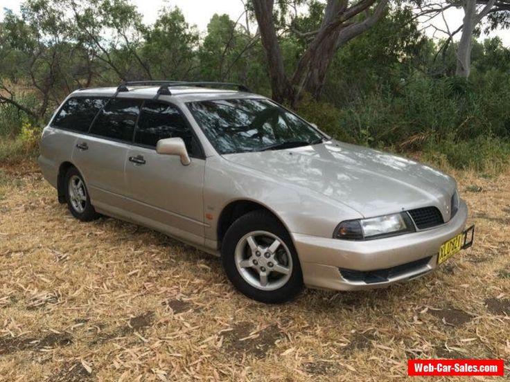 2001 Mitsubishi Magna TJ Solara Beige Automatic 4sp A Wagon #mitsubishi #magna #forsale #australia