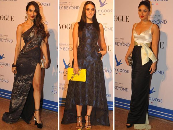 Floor sweeping gowns, tuxedos, high heels and bow ties, the  Grey Goose Fly Beyond Awards 2014 was full of oomph and style.  The red carpet was studded with Bollywood's glitterati who took the glamour quotient up to a whole new level altogether.  With very few faux pas and great outfits, here are some of the celebs who were present at the fancy do.Image courtesy: IANSDon't Miss! What Celebrity Watches Say About Their Personality