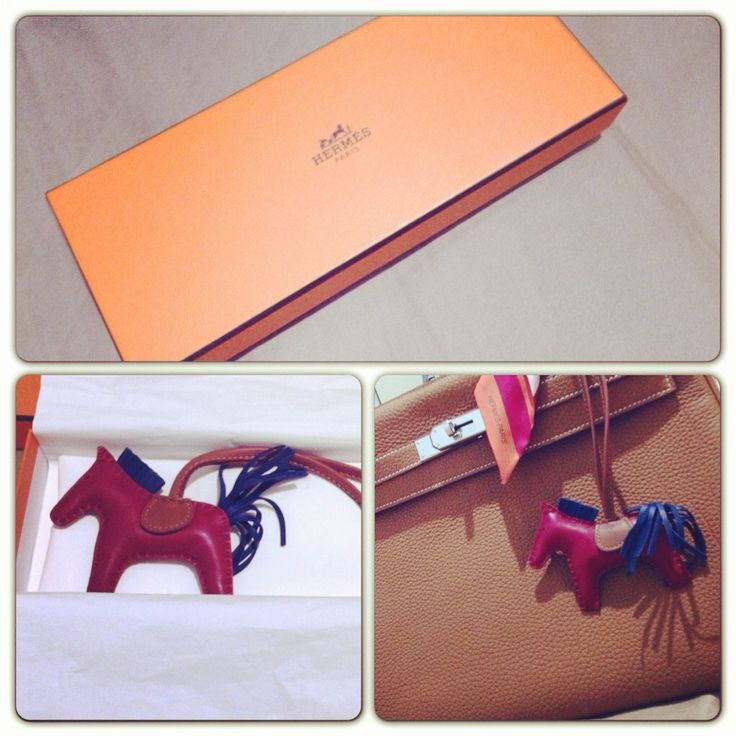 Hermes rodeo charm