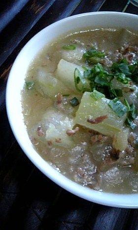 冬瓜のとろとろ♡中華スープ