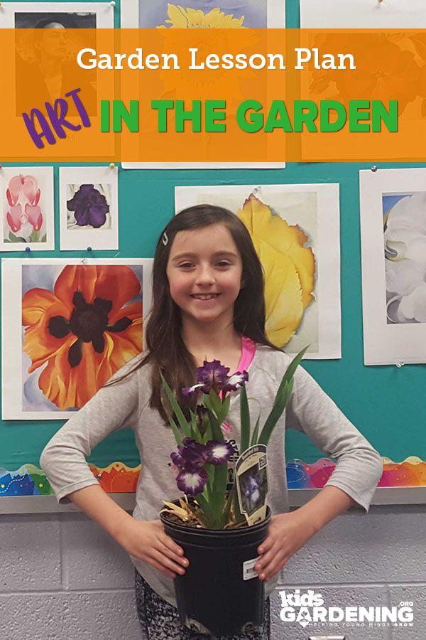 Art in the Garden - KidsGardening Garden Lesson Plans - resume lesson plan