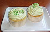 waldmeister cupcakes!!!