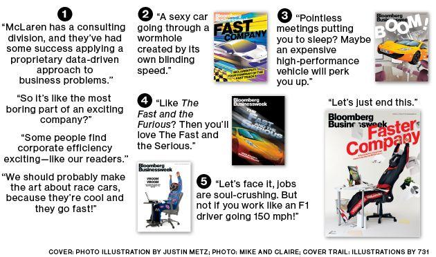 Businessweek's McLaren Cover: How We Made It - Businessweek (02.10.2014)