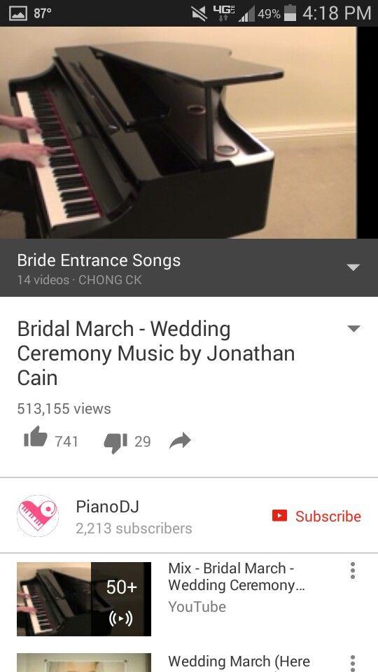 A 17 Legjobb Otlet Kovetkezorol Bride Entrance Songs