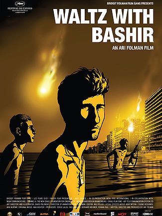 """Wikipedia: """"Waltz with Bashir is a 2008 Israeli animated documentary film written and directed by Ari Folman. It depicts Folman in search of his lost memories from the 1982 Lebanon War.""""  Awesome!!"""
