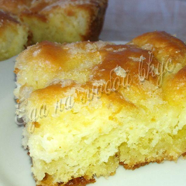 Безумно вкусный Сахарный пирог! Такого Вы еще не ели