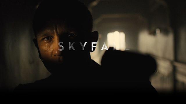 Skyfall Blu-ray introduction animation