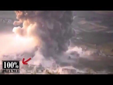 Rusia meluncurkan bom daya ledak tinggi di Suriah