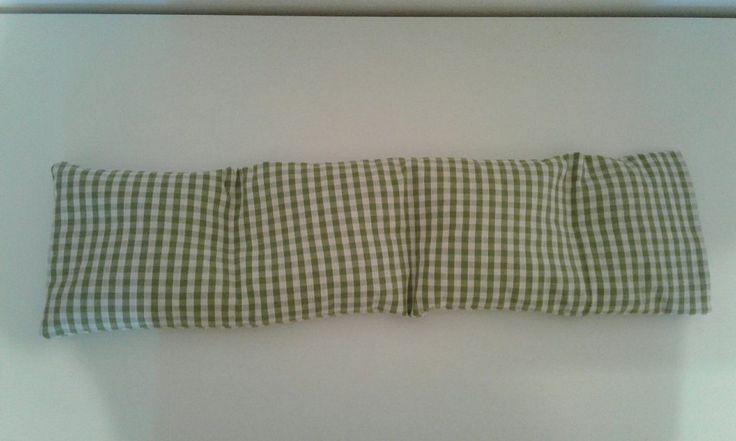 Cuscino lungo 55x15 per la COLONNA VERTEBRALE di ciliegia riscaldabile in forno…