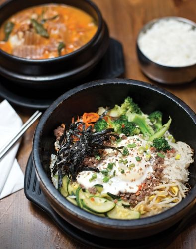 Bibimbap at Nam Kang on Maryland Avenue | Baltimore magazine Photo by Christopher Myers