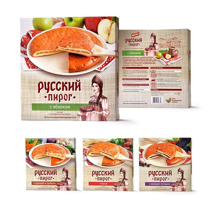 Русские пироги - замороженные полуфабрикаты (3)