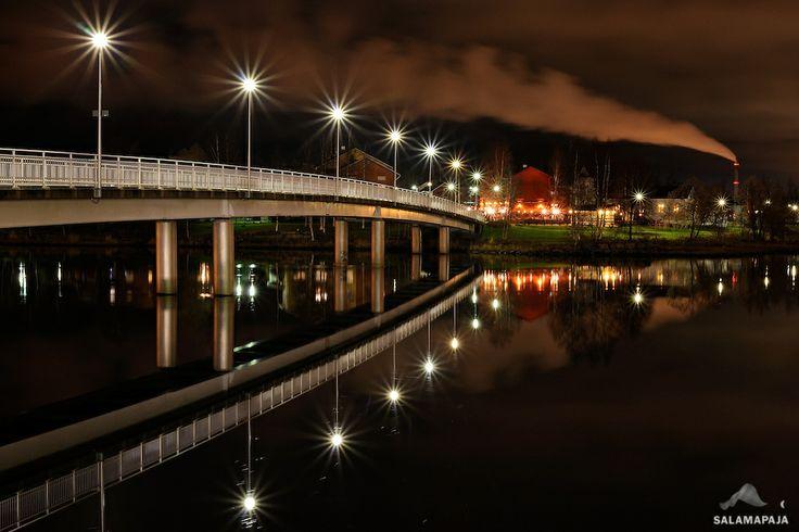 Calm night in Oulu 2 by Thomas Kast, Oulu, 2013