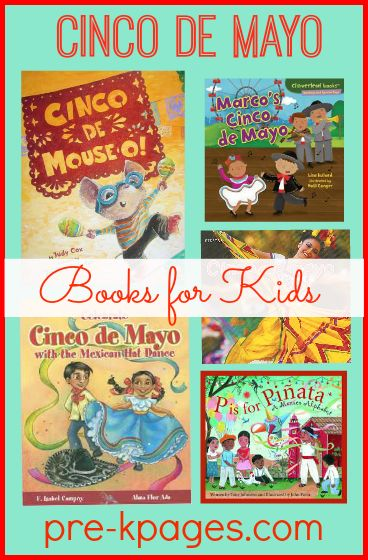 Cinco de Mayo Books for Kids