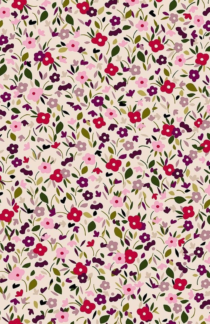 Floral Pattern Design And Illustration Pattern Wallpaper Prints Iphone Background