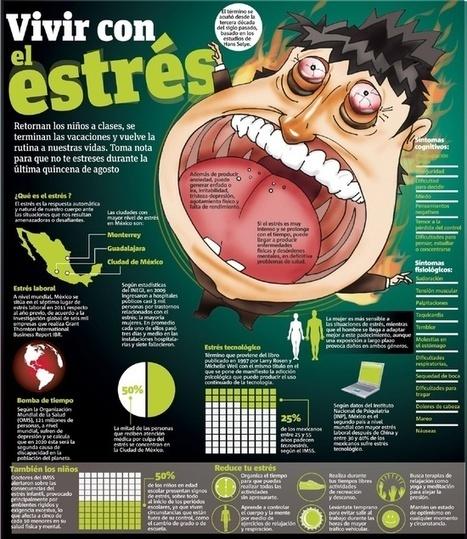 Vivir con Estrés - Infografia