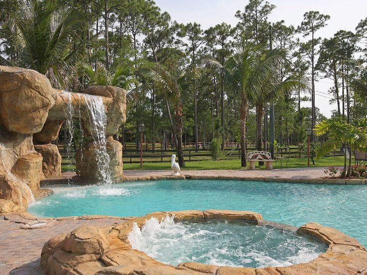 70 best Swimming pool waterfall and grotto ideas images on