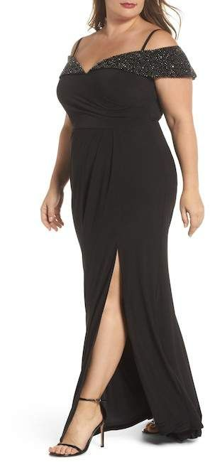 e1df04a6428 Plus Size Gown - Plus Size Party Dress  plussize