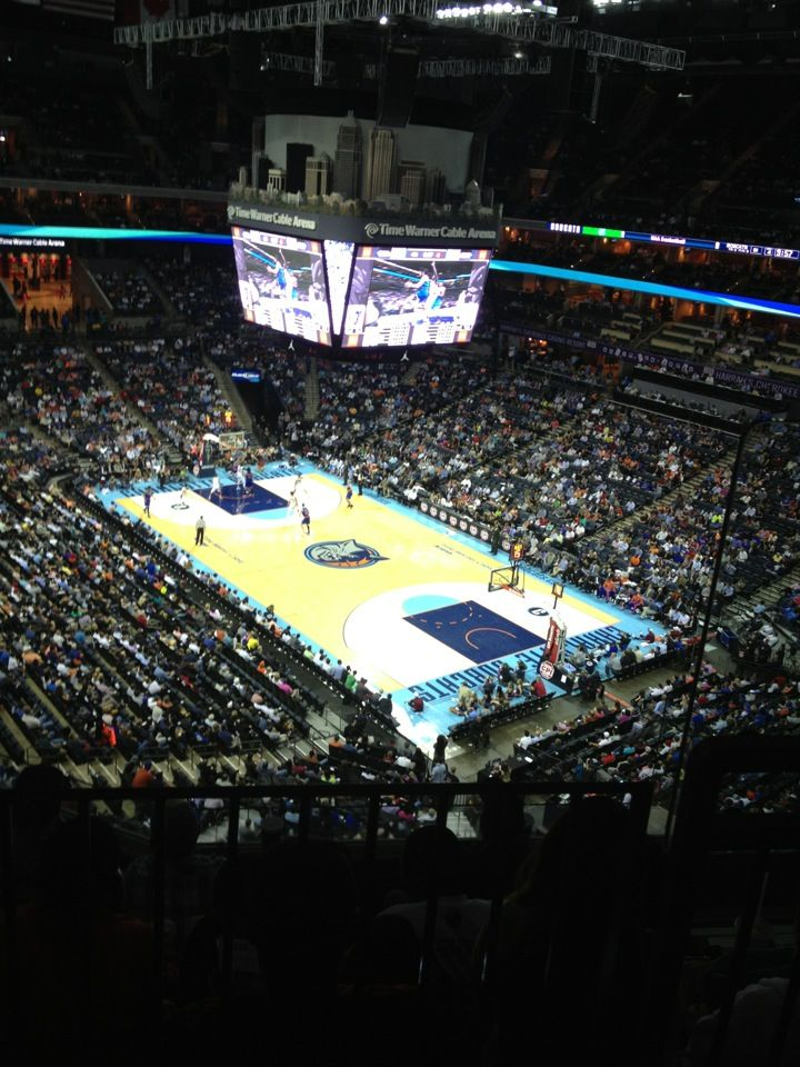 Time Warner Cable Arena in Charlotte, NC