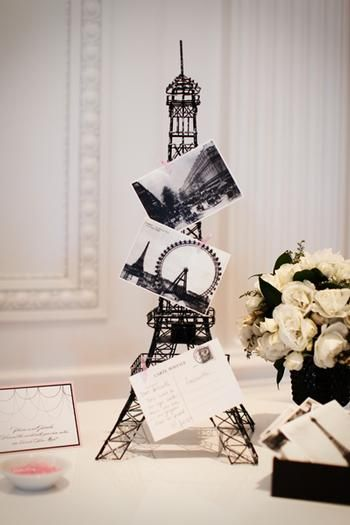 Coco Chanel French Inspired Bridal Shower