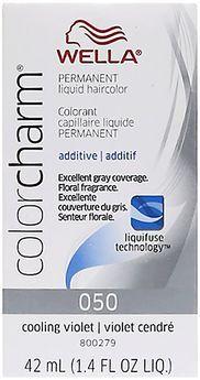 Cooling Violet Color Charm Liquid Permanent Hair Color