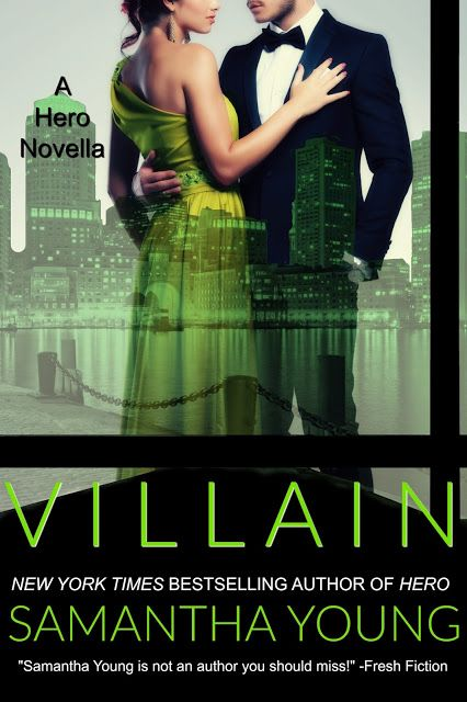 Calling All Bookaholics: Cover & Blurb Reveal - Villian (A Hero Novella) By...