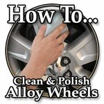How To Clean and Polish Alloy Wheels