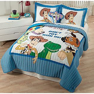 For a Toy Story nursery - I wonder if this could be cut down to fit a crib...
