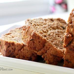 Vegan, Whole Grain Pumpkin Zucchini Chia Bread