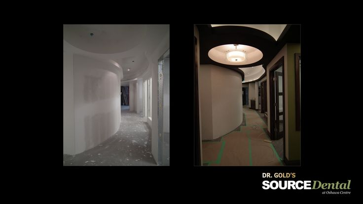 Construction of Dr. Gold's Source Dental's new office