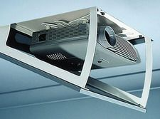 hide your projector hidden inside your ceiling while not in use