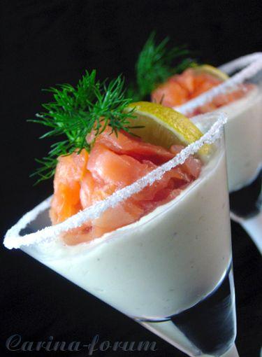 Salmone, succo d'arancia salsa di rafano - da Kareena