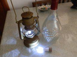OxyLED® 2-Pacco Luce LED Ricaricabile USB Forma Tappo Sughero Bottiglia Vino, Immediatamente Trasformare Vuote Bottiglie Vino in Lampade: Amazon.it: Illuminazione