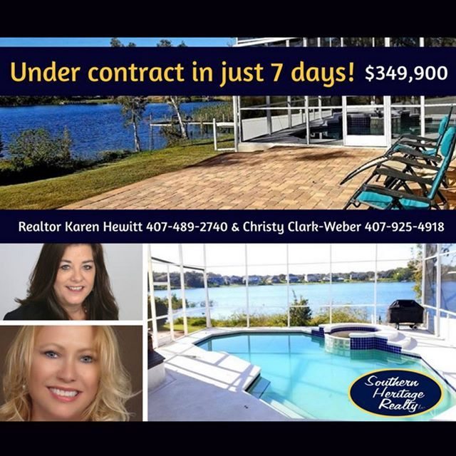 THIS OCOEE HOME WAS LISTED AND UNDER CONTRACT IN UNDER 7 DAYS! WOOHOO TEAM SOUTHERN HERITAGE! #CentralFlorida #CentralFloridaHomes #Realty #Realtors #FloridaRealty #Orlando #OrlandoFL #WinterGarden #luxury #luxuryhomes #homeforsale #home #house #florida #Kissimmee #Ocoee #Windermere #FloridaLiving #WinterGardenFL - posted by Southern Heritage Realty https://www.instagram.com/southernheritagerealty - See more Luxury Real Estate photos from Local Realtors at https://LocalRealtors.com/stream