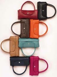 Hobo bags \u0026middot; Longchamp Pliage cuir