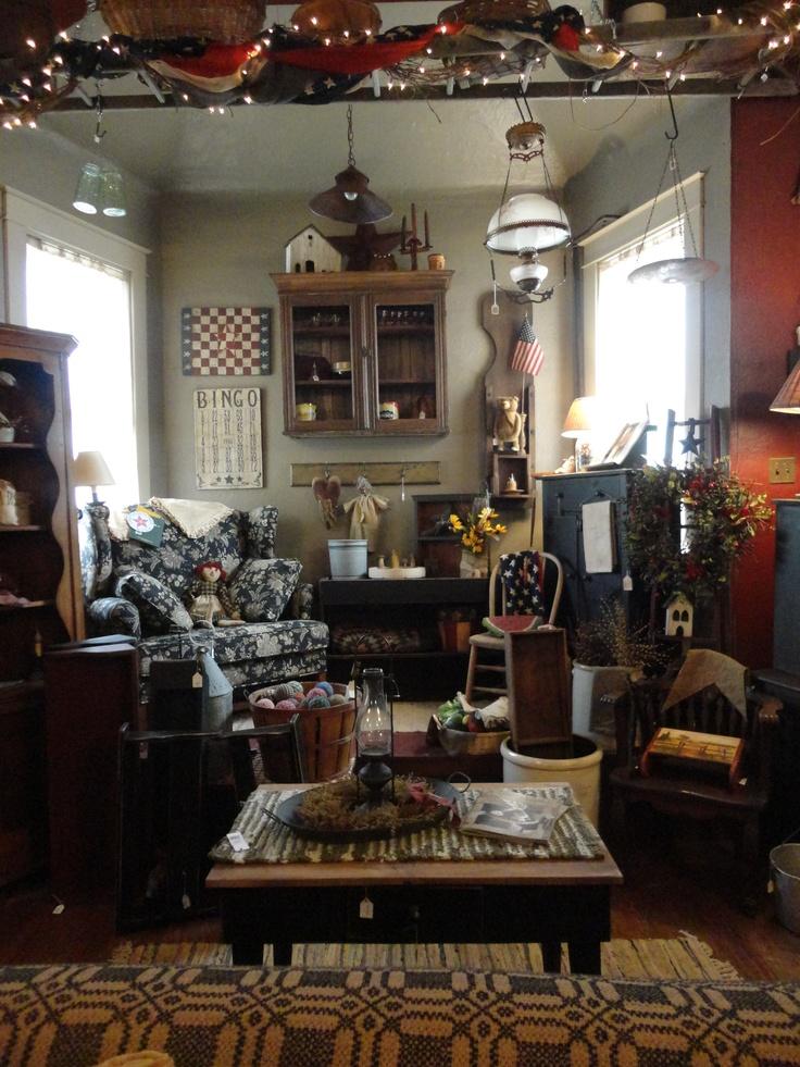 Primitive Country Living Room Decorating Ideas: 1000+ Images About Primitive Livingroom On Pinterest