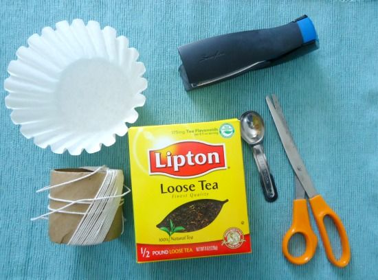How To Make Your Own Tea Bags - The Make Your Own Zone