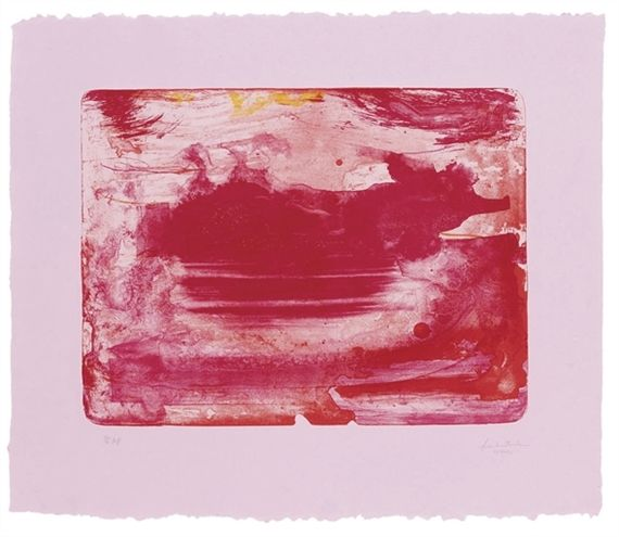 Helen Frankenthaler, The Red Sea