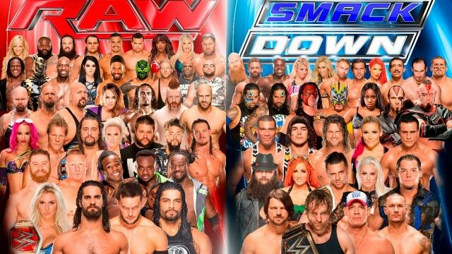 """f1779e05015a2443a9ec2462257b802b   draft a fan - """"WWE - Monday Night Raw """"/ """" Tuesday Night Smackdown Live""""..."""